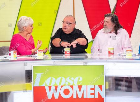 Stock Picture of Denise Welch, Gary Skyner and Ricky Tomlinson