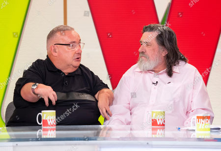 Stock Photo of Gary Skyner and Ricky Tomlinson