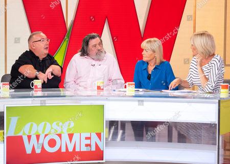 Gary Skyner and Ricky Tomlinson, Linda Robson, Jane Moore
