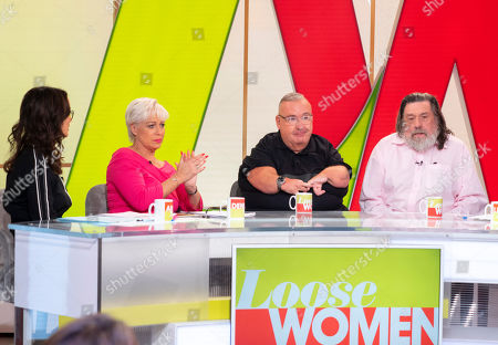 Andrea McLean, Denise Welch, Gary Skyner and Ricky Tomlinson