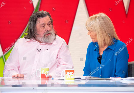 Ricky Tomlinson and Linda Robson