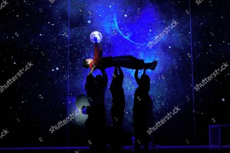 Editorial photo of 'The Curious Incident of the Dog in the Night-Time' in Madrid, Spain - 03 Sep 2018