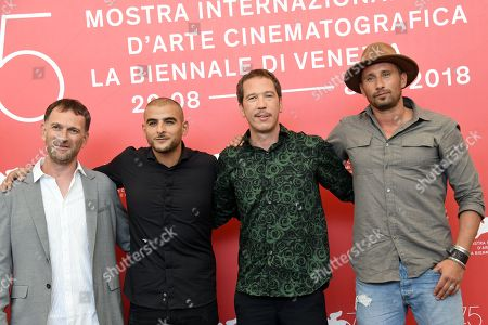 Editorial image of 'Freres Ennemis' photocall, 75th Venice International Film Festival, Italy - 01 Sep 2018