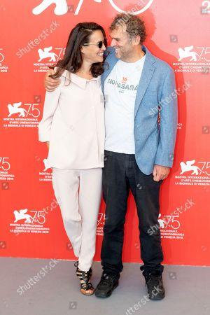 Yael Abecassis and Pippo Delbono