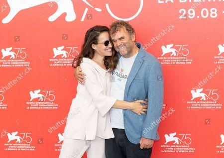 Stock Photo of Yael Abecassis and Pippo Delbono