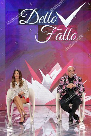 Bianca Guaccero and Giovanni Ciacci