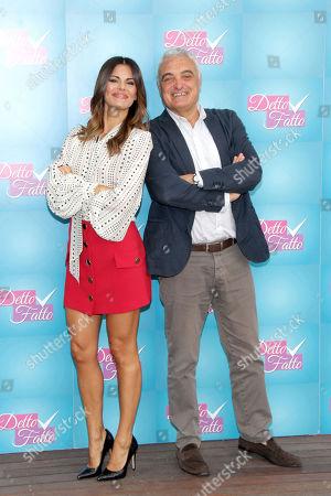 Bianca Guaccero and Leonardo Pasquinelli
