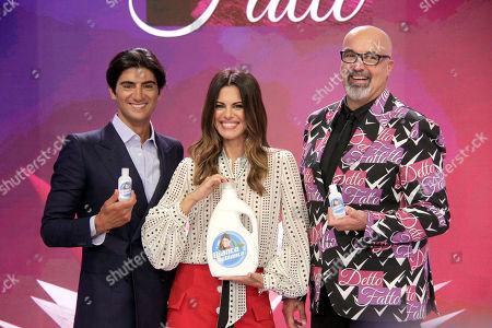 Gianpaolo Gambi, Bianca Guaccero and Giovanni Ciacci