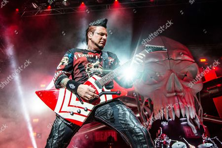 Editorial picture of Five Finger Death Punch in Concert - , Indianapolis, USA - 31 Aug 2018