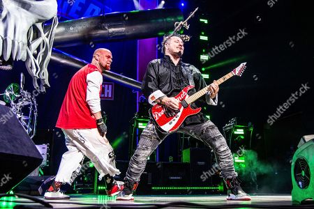 Editorial image of Five Finger Death Punch in Concert - , Indianapolis, USA - 31 Aug 2018