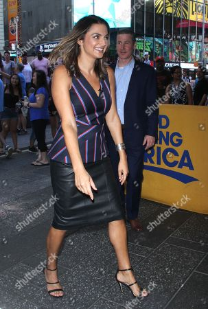 Good Morning America Tv Show New York Stock Photos Exclusive