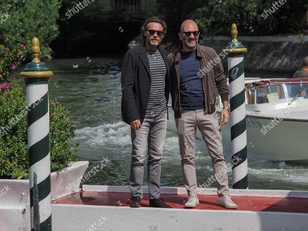 Alessio Boni and Donato Carrisi