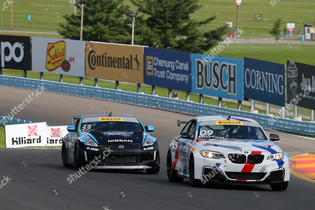 DRS Racing driver, Greg Nitzkowski #09, leads Rearden Racing driver, Paul Terry #33, during the Touring Car Round 12 PWC Grand Prix of Watkins Glen on at Watkins Glen International in Watkins Glen, New York