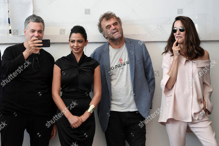 Editorial photo of 'A Letter to a Friend in Gaza' photocall, 75th Venice International Film Festival, Italy - 03 Sep 2018