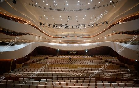 Editorial picture of New Moscow Concert Hall 'Zaryadye', Russian Federation - 03 Sep 2018