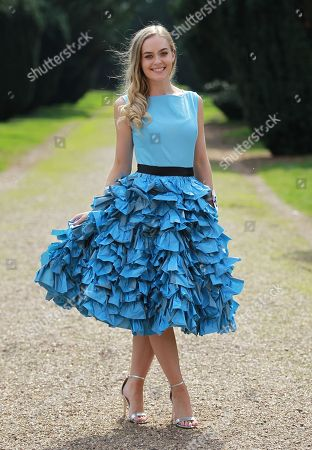 #46 Sophie Anderton Miss North Yorkshire 2018 in Eco Wear (ocean plastic rescue themed)