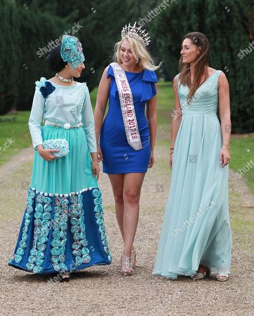 #44 Sara Iftekhar Miss Huddersfield 2018, Stephanie Hill Miss England 2017 and Kelly Levell from We Do Ethical Fashion Show in Eco Wear (ocean plastic rescue themed)