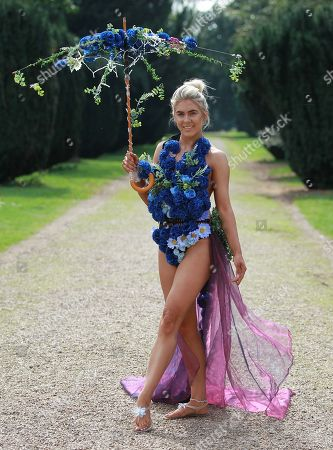 #3 Alexandra Darby Miss Black Country 2018 in Eco Wear (ocean plastic rescue themed)