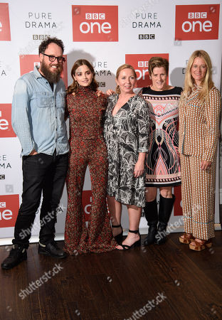 Glendyn Ivin, Jenna Coleman, Claire Mundell, Helen Fitzgerald and Edith Bowman