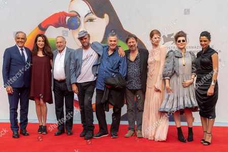 Editorial image of 'A Letter to a Friend in Gaza' premiere, 75th Venice International Film Festival, Italy - 03 Sep 2018