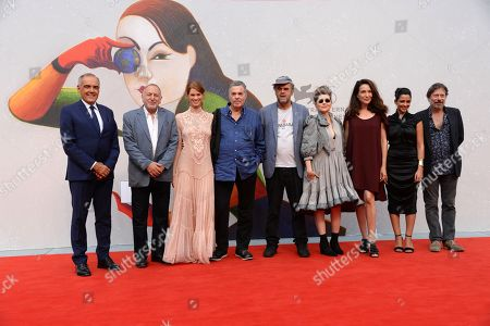 Editorial picture of 'A Letter to a Friend in Gaza' premiere, 75th Venice International Film Festival, Italy - 03 Sep 2018