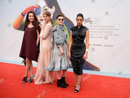 Stock Image of Yael Abecassis, Yuval Scharf, Karen Mor, Maisa Abd Elhadi