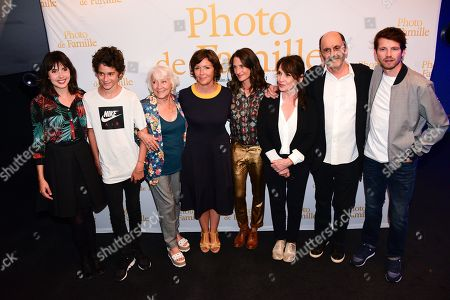 Cecilia Rouaud, Camille Cottin, Chantal Lauby, Jean-Pierre Bacri, Pierre Deladonchamps