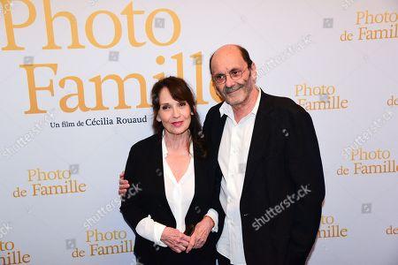 Editorial picture of 'Photo de Famille' film premiere, Paris, France - 03 Sep 2018