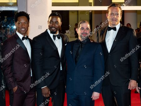 Stock Picture of Tory Kittles, Michael Jai White, S. Craig Zahler and Vince Vaughn
