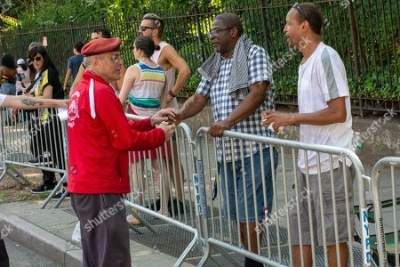 Curtis Sliwa, founder of the Guardian Angels neighbood patrol