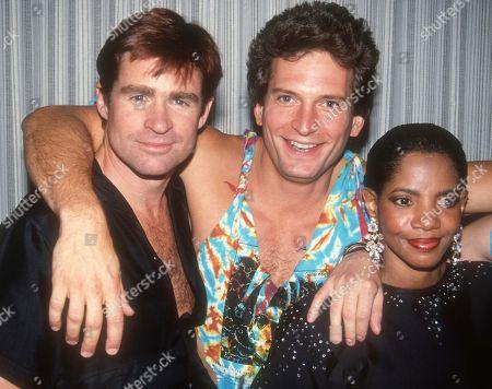 Treat Williams, Rex Smith and Melba Moore