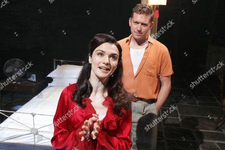 Rachel Weisz (Blanche DuBois), Barnaby Kay (Mitch)