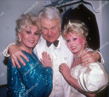 Stock Image of Zsa Zsa Gabor, Eddie Albert and Eva Gabor