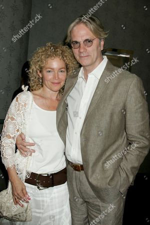 Amy Irving and husband Kenneth Bowser