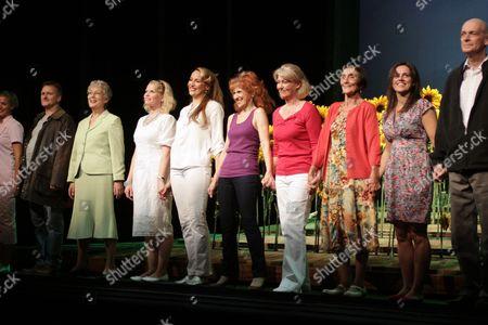 Editorial photo of 'Calendar Girls' play cast change at the Noel Coward Theatre, London, Britain - 28 Jul 2009