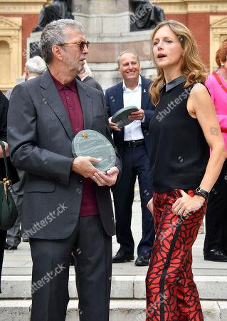 Eric Clapton, Katie Derham