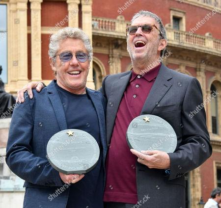 Roger Daltrey, Eric Clapton