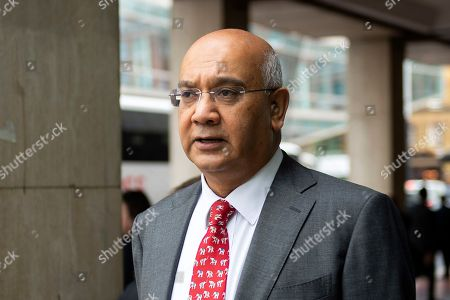 Stock Photo of British Labour Member of Parliament Keith Vaz arrives at British Labour Party headquarters in London, Britain, 04 September 2018. Labour's NEC (National Executive Committee) is expected to approve the international definition of anti-Semitism into Labour?s code of conduct at Labour headquarters 04 September.
