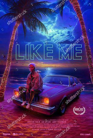 Stock Image of Like Me (2017) Poster Art   Addison Timlin as Kiya