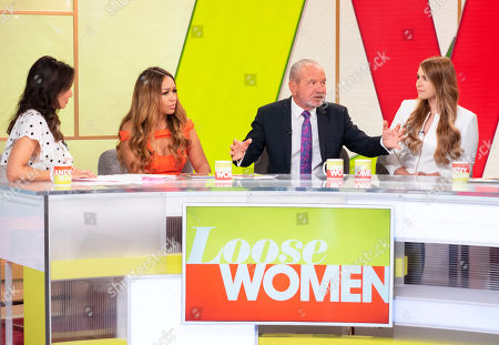 Andrea McLean, Rebecca Ferguson, Lord Alan Sugar, Alana Spencer