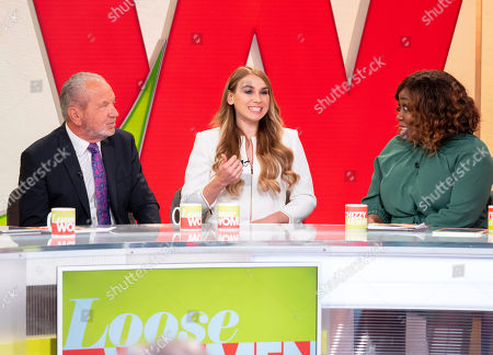 Lord Alan Sugar, Alana Spencer, Chizzy Akudolu