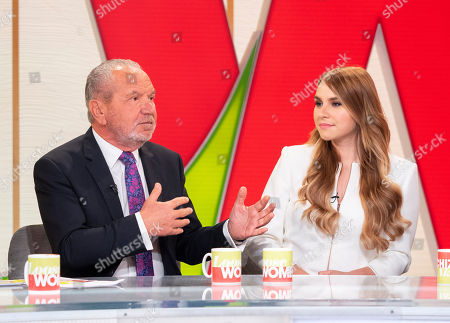 Lord Alan Sugar and Alana Spencer