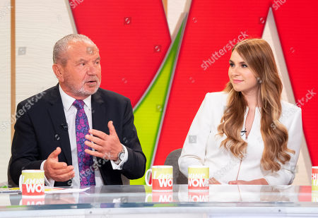 Stock Picture of Lord Alan Sugar and Alana Spencer