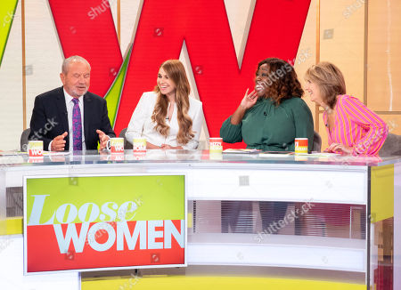 Editorial image of 'Loose Women' TV show, London, UK - 04 Sep 2018