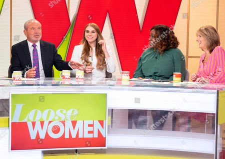 Lord Alan Sugar, Alana Spencer, Chizzy Akudolu and Kaye Adams