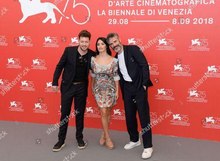 Gonzalo Tobal, Lali Esposito and Leonardo Sbaraglia