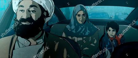 Judge (Hasan Ali Mete), Pari (Elmira Rafizadeh), Elias (Bilal Yasar)