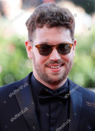 Director Gonzalo Tobal poses for photographers upon arrival at the premiere of the film 'Acusada' at the 75th edition of the Venice Film Festival in Venice, Italy, Tuesday, Sept.4, 2018