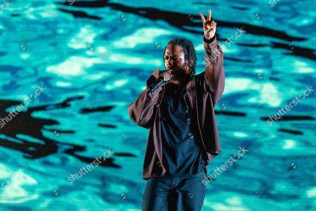 Stock Photo of Kendrick Lamar