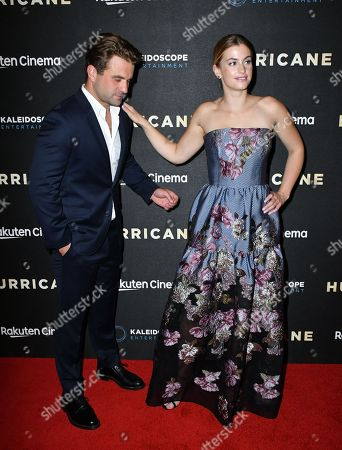 Editorial picture of 'Hurricane' film premiere, London, UK - 04 Sep 2018